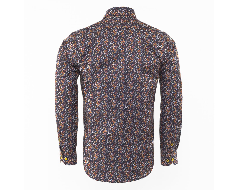 98950711793 SL 6476 Рубашка с цветочным принтом и бабочками - Рубашки на все ...
