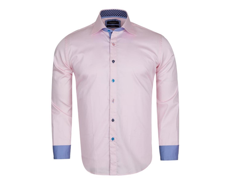 ab346f0695f SL 5311 Розовая рубашка с цветными деталями - Рубашки на все случаи ...
